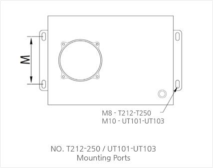 NO. T212-250 / UT101-UT103