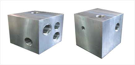 block for relief, check and sv1 solenoid valve