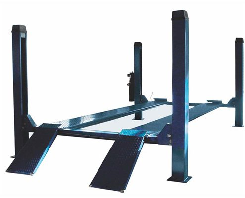 4 post car lift with ac three phase