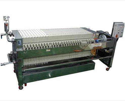 Filter press, Power Pack Type