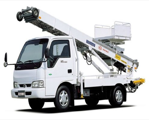 24V Ladder Car with Emergency Type